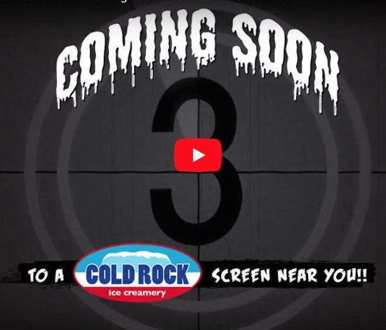 Cold Rock iScream Video Series