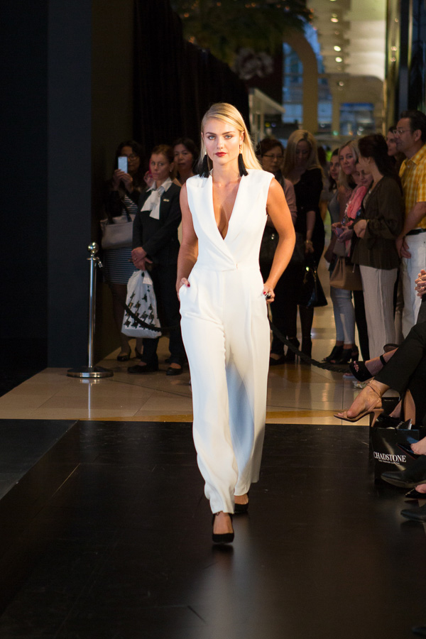 Elyse Knowles Chadstone Fashion Event by Dansk Studios
